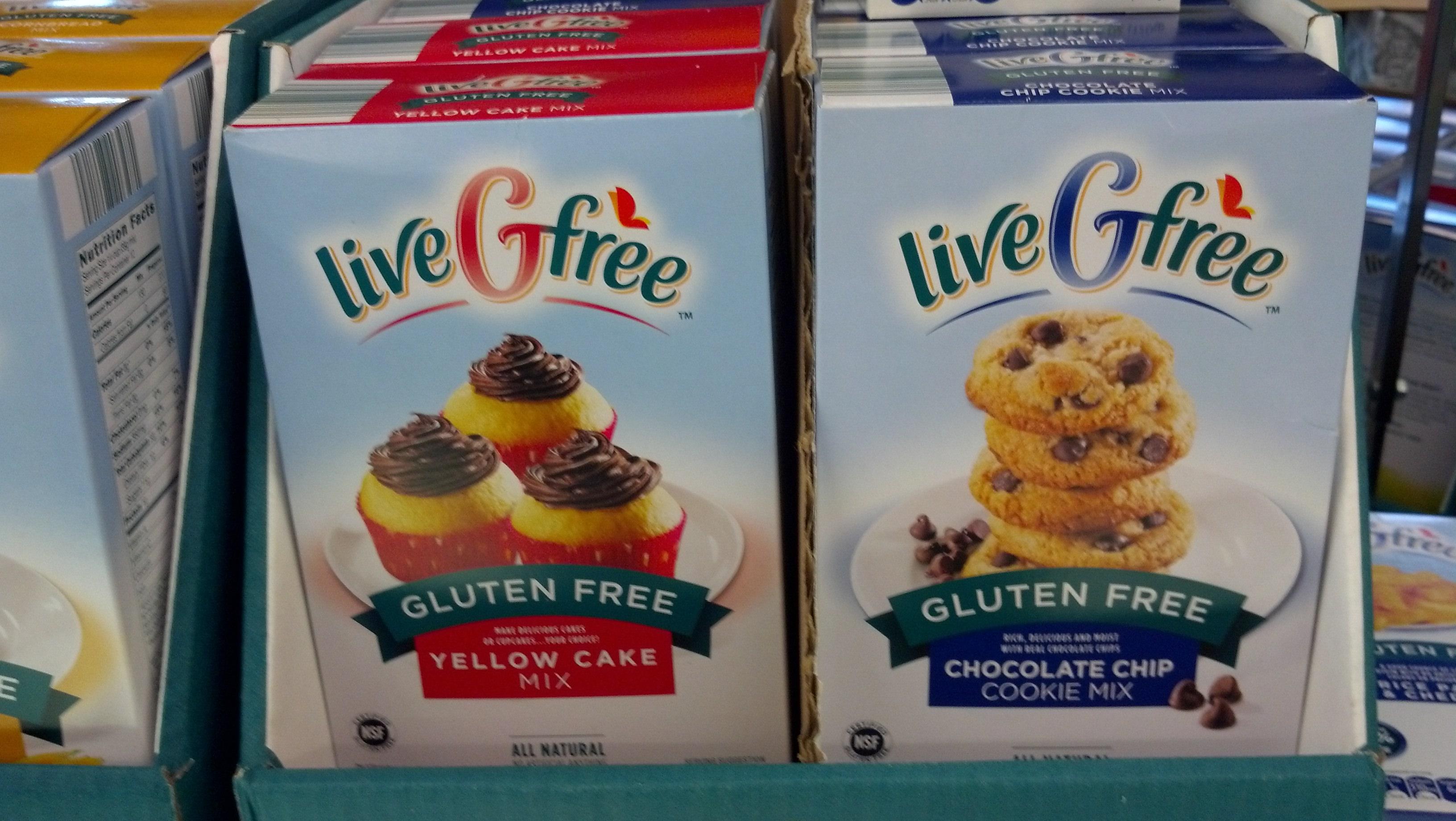 Aldi's Gluten Free Mixes