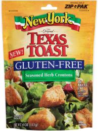 Enjoy croutons once again! This gluten free salad topping was seen ...